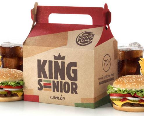 Burger King cria lanche 'para tirar idosos de casa' Viver Agora