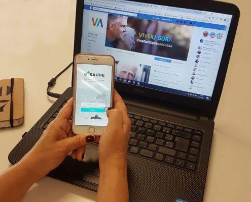 e-Saúde: aplicativo para quem tem 60+