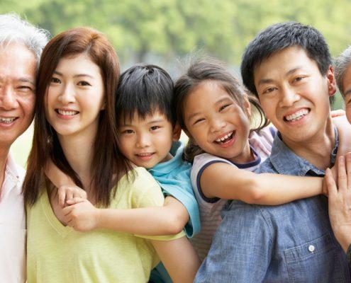 Orientais: longevidade com cuidado familiar
