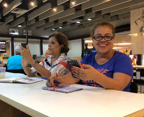 Smartphones e os maduros